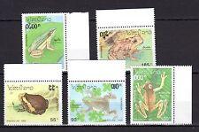 Laos 1993 Frogs MNH