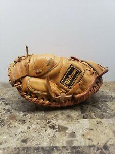 Wilson Catchers Mitt Glove LHT Tony Pena A2507 Pro Toe Snap Action Airlite