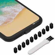 Iphone X 7 8 Plus Charging Port Cover Lightning Anti Dust Plug Silicone Cap ...