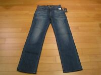 """NWT Men's 7 For All Mankind """"AUSTYN"""" LUXE Performance Relaxed Straight Jeans"""