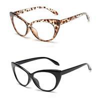 Fashion Optical Glasses Eyeglass Frame Men Women Vintage Clear Lens Spectacles