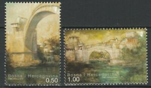 Bosnia Herzegovina 2004 Architecture Bridges 2 MNH stamps