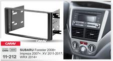 CARAV11-212 Car Stereo Radio Face Fascia Plate Panel Frame For For SUBARU 2DIN