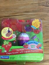 Strawberry Shortcake Tiny Treats Doll Crepes Suzette With Cupcake Keychain-ring