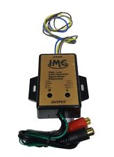 New Imc Audio High Level to Low Level Converter + Rca Input Sensitivity Control