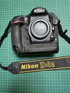 appareil photo numerique reflex nikon D4 S