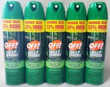 5 OFF! Deep Woods Insect Repellent 8oz Spray West Nile Virus Mosquitoes Large