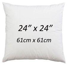 "24"" x 24"" Cushion Pad Hollowfibre Non Allergic Cushion Inner 24 Inch - Pack of 2"