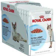Ultra light gravy 12 bustine da 85 grammi ciascuna, Royal Canin