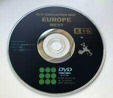 TOYOTA LEXUS E1G 2017-2018 SAT NAV MAP UPDATE DISC UK EUROPE DVD