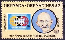 Grenada Grenadines 1985 MNH, Gandhi, Combat Racism (Ge2)