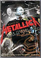 Metallica DVD Especial Orion Fest 2012 e Reading Fest 1997 Brand New Sealed