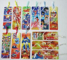 12 pcs Philippine VOLTES V Bookmark 1990's Voltus V Japan Robot