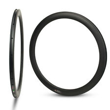 3 years warranty 2*700C 50mm depth 25mm wide tubeless carbon bicycle rims