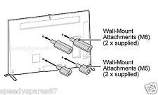 SONY WALL MOUNT BOLTS KD-55X9000B KD-65X9000B KDL-60W850B KD-79X9000B ( 4 PK )