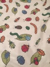 Bug Insect Top Sheet Flat/crafting Material   The Company Store Israel Cotton