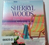 NEW *Sealed* AUDIO BOOK on CDs HOME TO SEAVIEW KEY Sherryl Woods