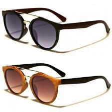 Damen ' VG 'Designer Holzeffekt Sonnenbrille OL30