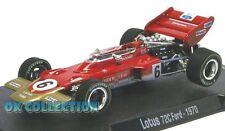 *VISIT MY EBAY STORE - 1:43 LOTUS 72 C FORD - RBA F1 (1970) - Jocken Rindt