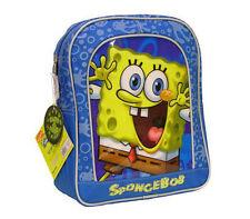 """SpongeBob Squarepants Preschool Kids Glow in the dark 11"""" BACKPACK BAG Boys NEW"""