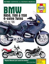 HAYNES MANUAL BMW R850 1100 & 1150 4-VALVE TWINS