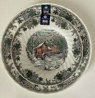 "12 Royal Wessex Churchill CHRISTMAS 6 DINNER 10"" 6 SALAD 8"" PLATES SET 12 NEW"