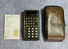 HP 67 Programmable Calculator - USED - Card Reader needs Repair; Case Included