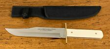 NRA Legacy of Freedom Bowie Fixed Blade Knife Limited Edition W/ Sheath