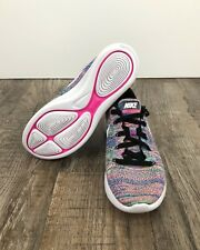 Nike Lunarepic Low Flyknit Womens Running Shoe 843765 004 Multi Color Sz 7