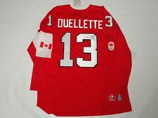 CAROLINE OUELLETTE SIGNED TEAM CANADA 2014 OLYMPIC HOCKEY JERSEY SOCHI PSA COA