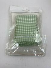 Basket Liner - Small - Sage Gingham Print