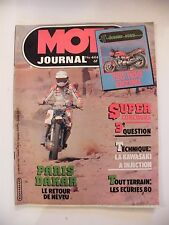 Moto Journal Janvier 1980 N°444 Paris Dakar Neveu 750/1000 Suzuki