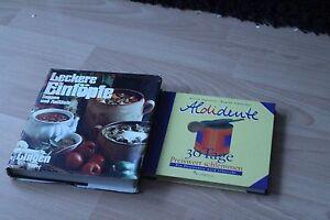 2 Kochbücher Leckere Eintöpfe und Aldidente