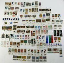 HUGE ISRAEL LOT OF 100+ TABS POSTAGE STAMPS COLLECTION