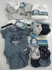 Gerber Baby Boy's 18 Piece Organic Gift Set Size Preemie NEW Cute
