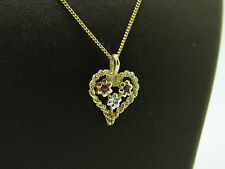 Halsketten aus mehrfarbigem Gold mit SI Reinheit