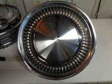 1975-1979 (1) Cadillac Fleetwood Hubcap Wheel Cover  *EXCELLENT NEW OLD STOCK