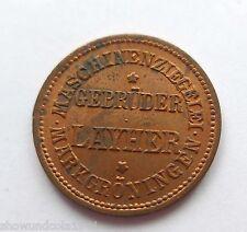 2 Pfennig? Münze --Maschinen-Ziegelei-- Markgröningen