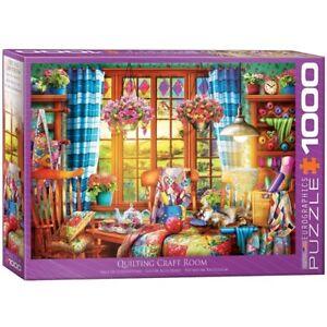 EG60005348 - Eurographics Puzzle 1000 Pc - Patchwork Craft Room