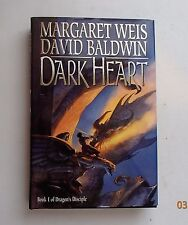Dark Heart Vol. 1 by David A. Baldwin and Margaret Weis HC/DJ 1st Ed / prnt 1998