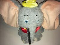 """Disney Parks Dumbo Elephant 8"""" Plush Stuffed Animal"""