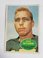 Bart Starr Packers 1960 Topps #51 EXMT Centered