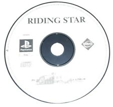 RIDING STAR - PlayStation 1 PS1 Play Station Game Bambini Gioco