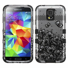Patterned Silicone/Gel/Rubber Cases & Covers for Samsung Galaxy S5