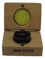 78D  Double aspheric lens in wooden case By BEXCO