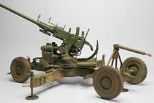 1/16 Scala SECONDA GUERRA MONDIALE Bofors 40 mm oqf Marks I AA Gun Model Kit (LASERCUT parti) \ \