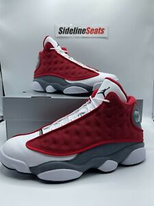 Nike Air Jordan 13 Retro Size 9 DJ5982 600  Gym Red  Black Flint Grey White