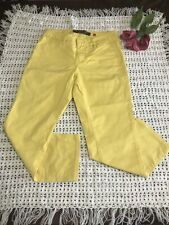 Christopher Blue Yellow Jeans Size 2