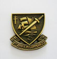 1ER B.F.M  (Badge émail/pin's 3D)