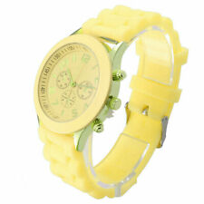 Colorful Men Women Unisex Silicone Jelly Quartz Analog Sports Wrist Watch USA